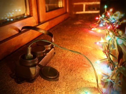 Przedłużacz do lampek świątecznych