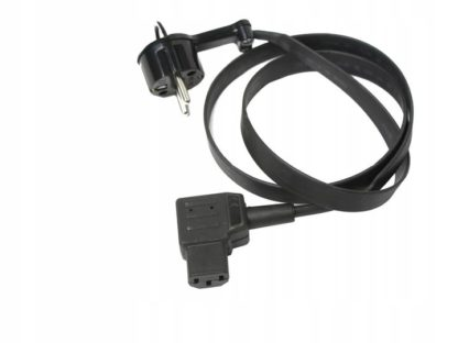 Praktyczny płaski kabel zasilający IEC